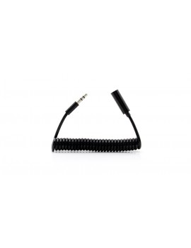 3.5mm Male to Female Coiled Cable (100cm)