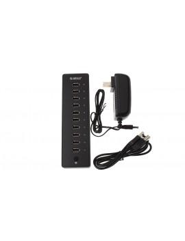 Authentic ORICO P10-U2 USB 2.0 Hub + Power Adapter